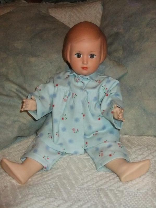 Un pyjama chaud et confortable pour Françoise! Modèle de mars 1953