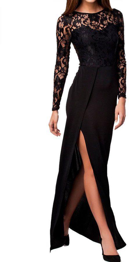 Dissa® FOB6948 Noir femme Tenue de Soiree,M, only 39.99$ at Amazon Canada