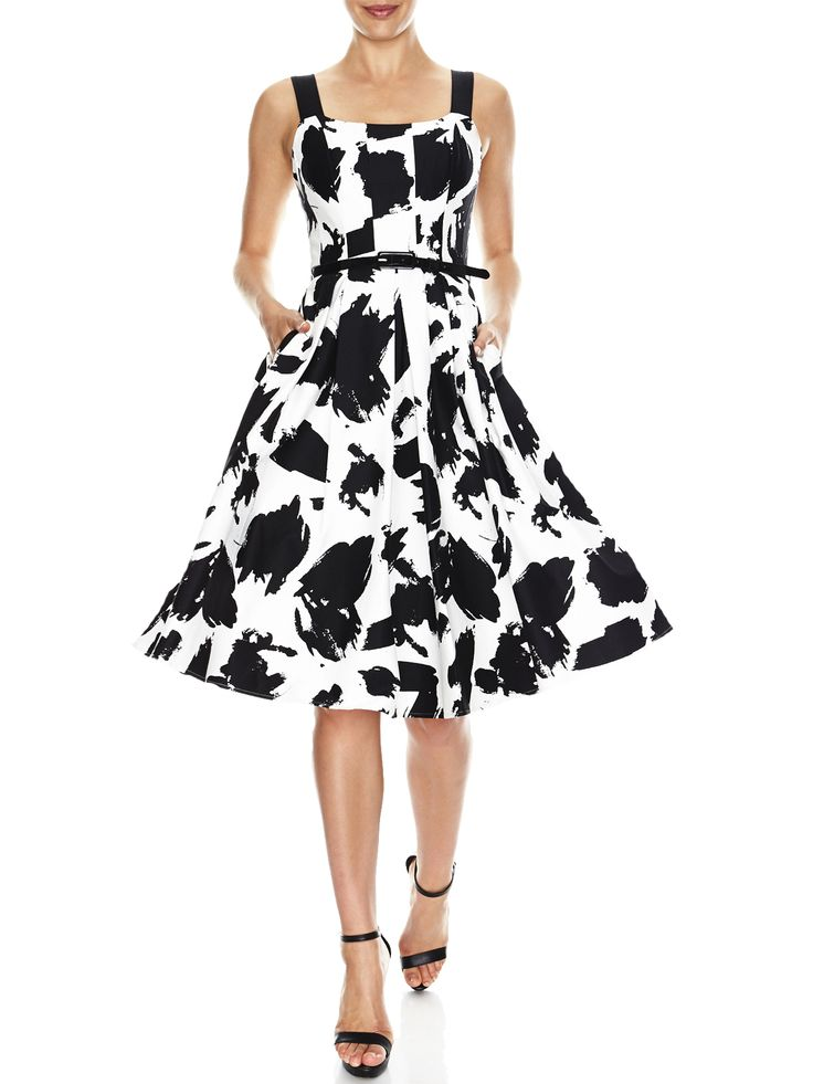 Heidi Print Fit & Flare Dress   Evening Dresses, Formal Dresses, Cocktail Dresses, Bridemaid dresses and Mother of the Bride at Will Hope Love