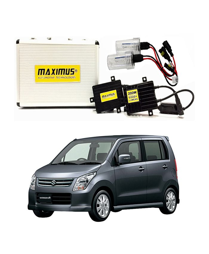 Suzuki Wagon-R Maximus 200W HID 6000 Lumens - Model 2008-2012  Delivery available worldwide.  Have a Question: +923111222357