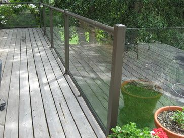 Century Aluminum Deck Railing - Modern - Outdoor Products - seattle - by Century Aluminum Railings