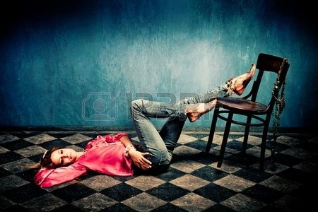 11313787-young-woman-in-oriental-shirt-and-shoes-lie-on-tiled-floor-legs-on-chair-studio-shot.jpg (450×300)