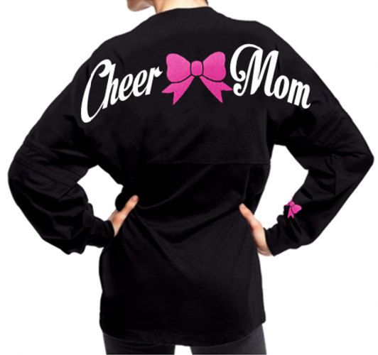 Southern Made Cheer Mom SPirit Jersey  by SouthernMadeShirts