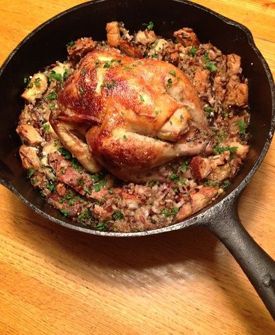 Roast Pheasant with Wild Rice Stuffing. https://www.pheasantfordinner.com/consumer/recipes/entree/roast-pheasant-with-wild-rice-stuffing.aspx