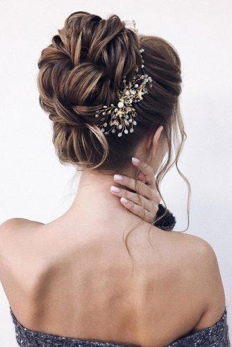 Zeitlose Brautfrisuren ★ Weitere Informationen: www.weddingforwar …   – Hair