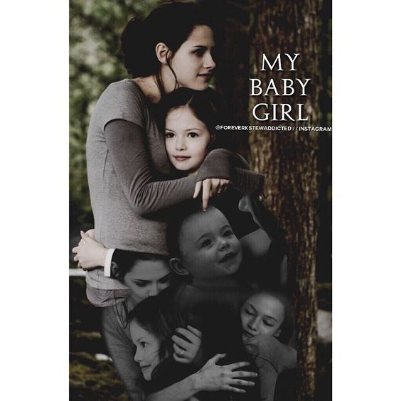 Mommy Bella and Baby girl Renesmee
