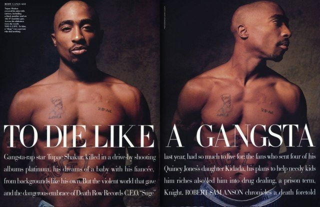 Tupac Dead Body | Photographs by Danny Clinch.