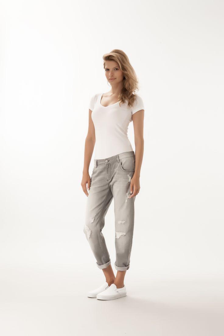 Ivy / Boyfriend Fit  #denim #CrossJeans