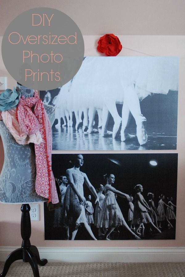 way Iu0026#39;ve found to make oversized photo prints mounted to foam board ...
