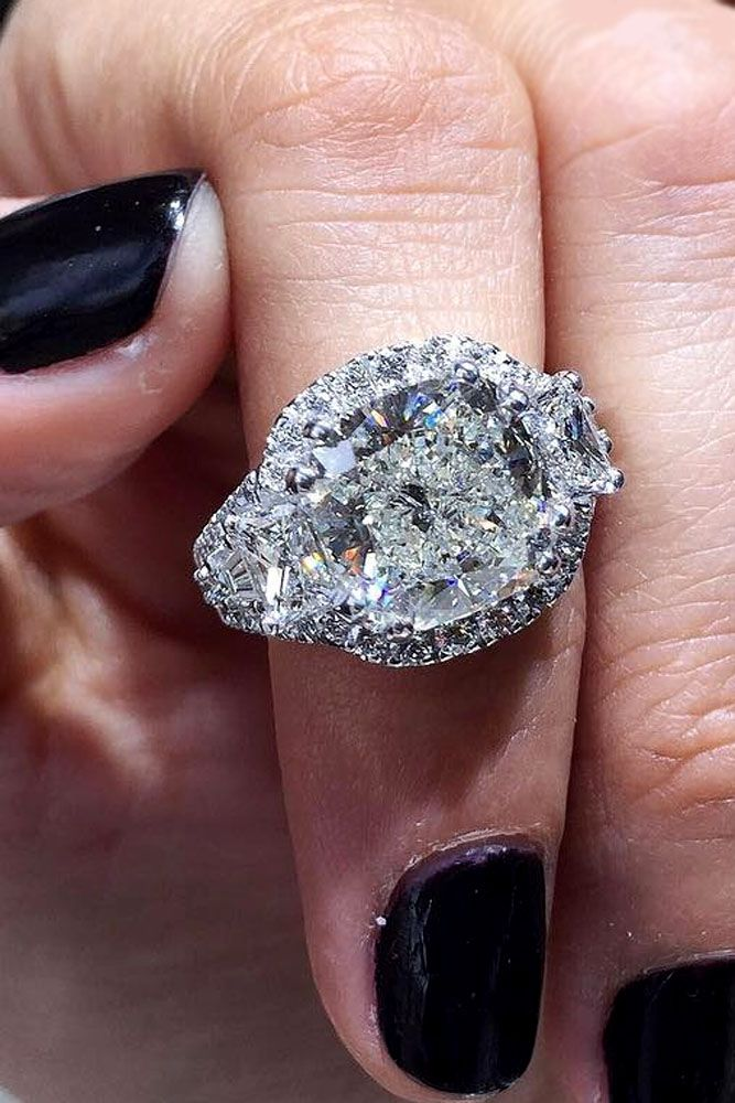 Cushion Cut Engagement Rings Which Give A Super Shine ★ See more: https://ohsoperfectproposal.com/cushion-cut-engagement-rings/ #engagementring #proposal
