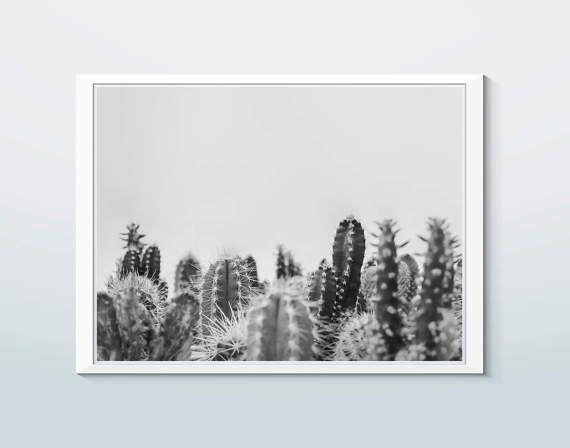 Digital cactus print