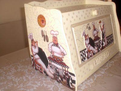 ♥♥ Hobi Vakti ♥♥: Hamur Kabartmalı Ekmek Kutusu ve Yapım Aşamaları
