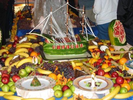 Cruise ship midnight buffets for Buffet cuisine en pin