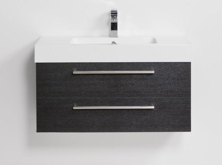 Raymor Tessa Wall Hung Vanity, 2 Drawer, 900mm. White. Bathroom Inspiration Bathroom IdeasWood GrainBath RemodelCupboardsGrainsToiletsDrawerVanities