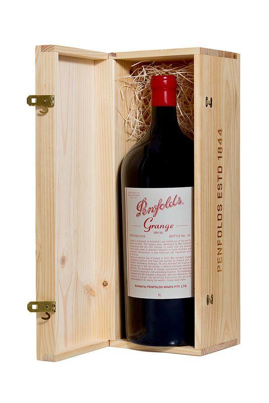 Barossa Wine Chapters Auction 2015: Live Auction Lots  Lot 21  Penfolds  Bin 95 Grange Shiraz 2009 6.0L Imperial