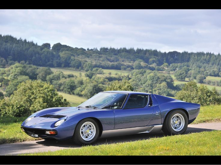 Awesome Car For Sale: Rod Stewartu0027s Old 1971 Lamborghini Miura SV   Airows