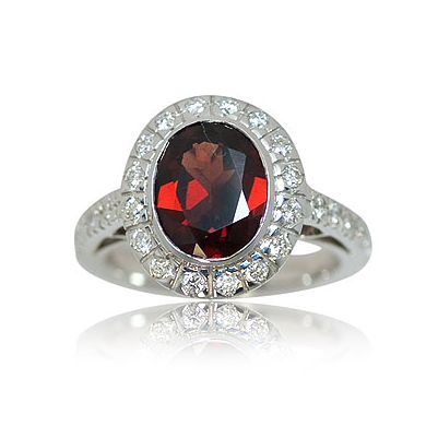 And here is the next attractive color gemstone ring - Parris Jewelers #jewelry