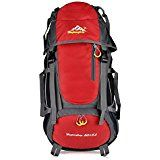 Macbag with Rain Cover Camping Hiking Outdoor Backpack 40L 55L LARGE CAPACITY Rucksack 40L Waterproof Dry Bag Ideal for Camping, Hiking and Climbing