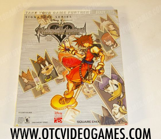 Kingdom Hearts: Chain of Memories Strategy Guide