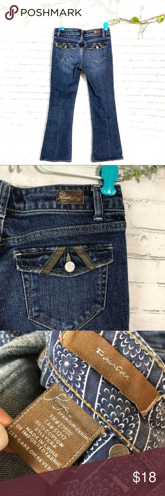 """Paige premium denim pairfar boot cut jeans Great condition 28"""" inseam PAIGE Bottoms Jeans"""
