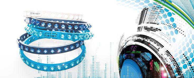 Bracciali Glambands TIE-UPS