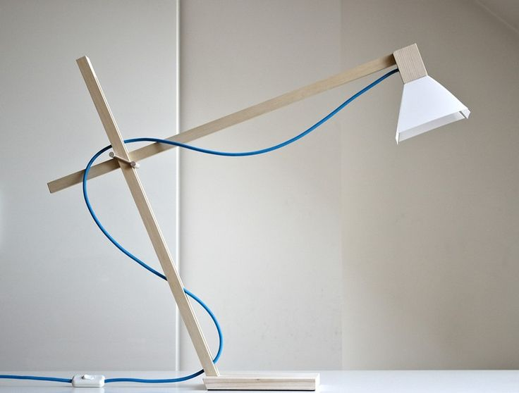 White MAX lamp by FLAPO