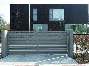 aluminium poort - Glenfiddich - top favoriet - schuifpoort - modern design