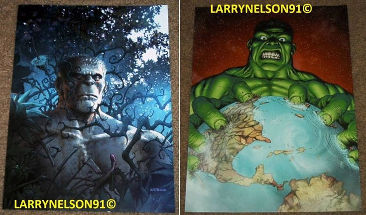 INCREDIBLE PLANET HULK POSTER #104 #106 MARVEL WORLD WAR HULK BREAKER AVENGERS H