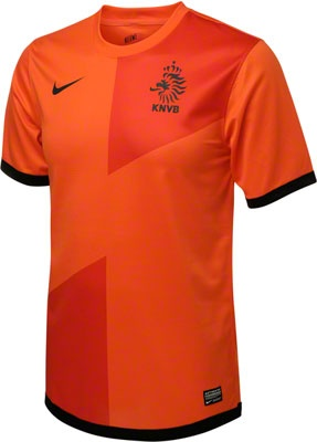Netherlands Soccer Youth Orange Nike Home Replica Jersey