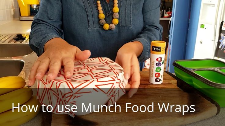 How to use Munch Food Wraps