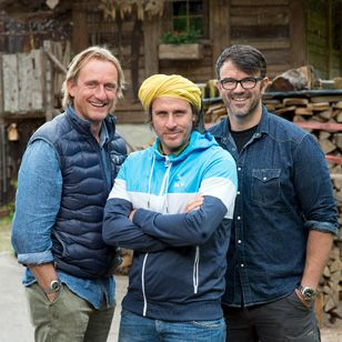 """Für das Food-Adventure """"Beef Buddies"""" von ZDFneo gehen die Profi-Köche Frank Buchholz, Chakall Lopez und Tarik Rose auf die Jagd - nach Fleisch in allen Variationen."""