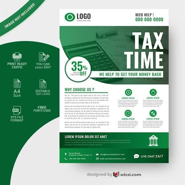 Tax Flyer Templates Free Income Tax Flyer Template Free Flyer Template Flyer Free Flyer Templates