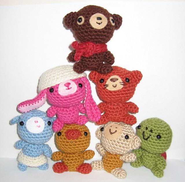 Amigurumi World Seriously Cute Crochet : Tiny Ami! Pattern in