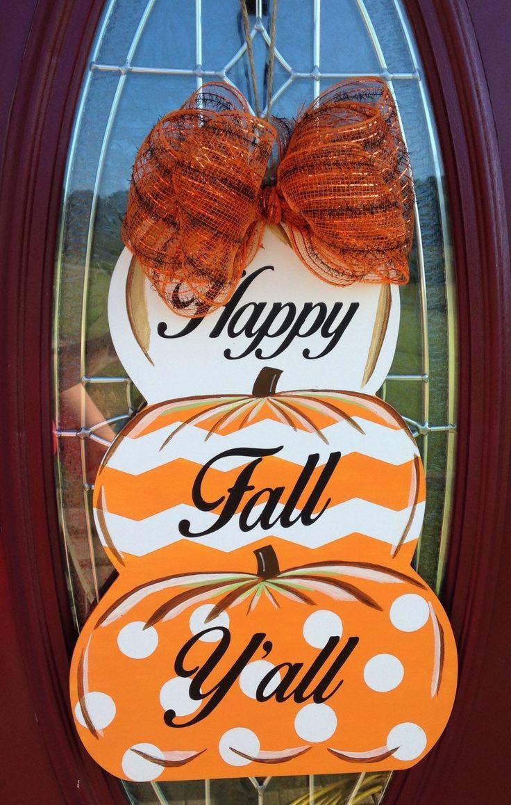 Door hanger fall front door decoration pumpkin door decoration - Sale Fall Door Hanger Pumpkin Door Decoration Fall Home