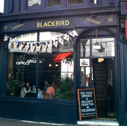 Blackbird Tea Rooms - traditional tearooms in the heart of Brighton