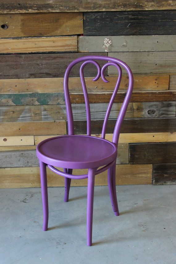 Thonet Style Vintage Bentwood Chair W/Classic Heart By SoLoMarket