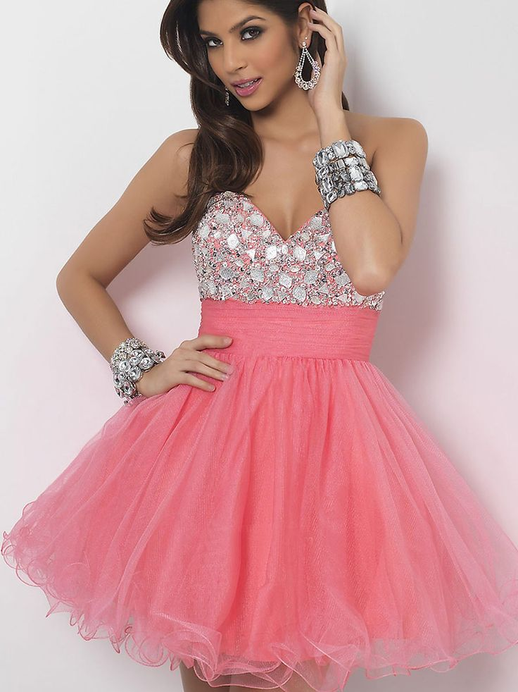40 Vestidos de 15 años largos y cortos en color rosa | Vestidos Glam