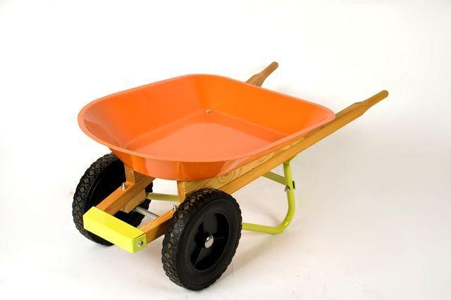 A child's wheelbarrow