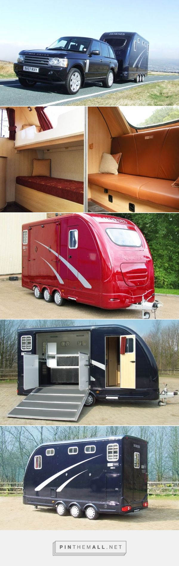 I saw these at the Horse Expo and they are awesome! Star Treka, Horse Trailers | Horsebox Manufacturers UK | Equi-Trek - created via http://pinthemall.net