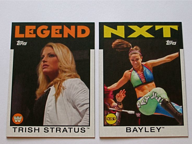 2016 Topps WWE Heritage Bayley *NXT* Card #60 - http://bestsellerlist.co.uk/2016-topps-wwe-heritage-bayley-nxt-card-60/