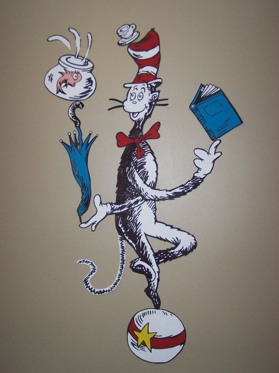 Dr Seuss Wall Decor 21 best dr. seuss wall art images on pinterest | dr suess, babies