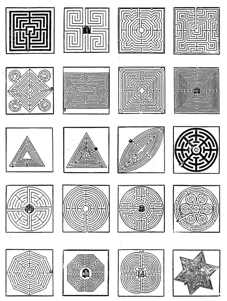9 best mazes images on pinterest school kids mazes and for Garden labyrinth designs