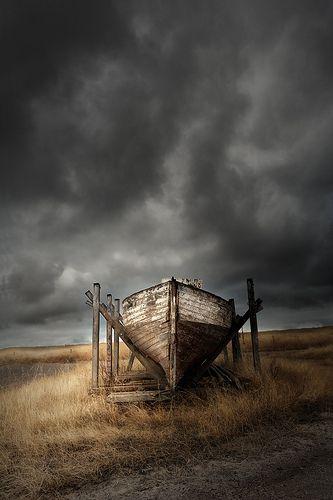 "Abandoned boat  ""Rambler"" - Victor Harbour, South Australia"
