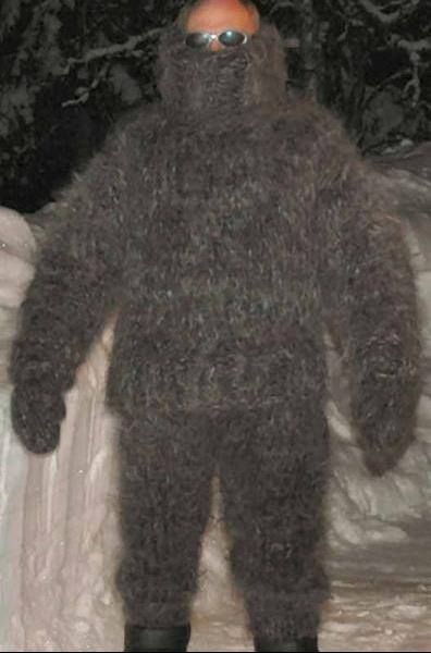 Great thick and fuzzy mohair suit!!! wool Pinterest