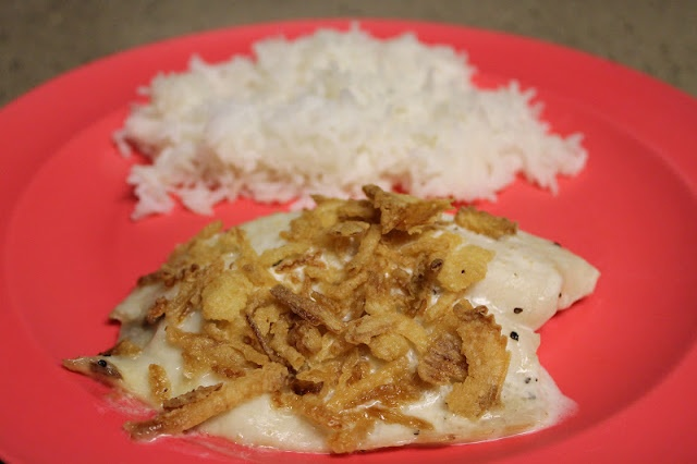 Living a changed life recipe review baked ranch tilapia for Tilapia fake fish