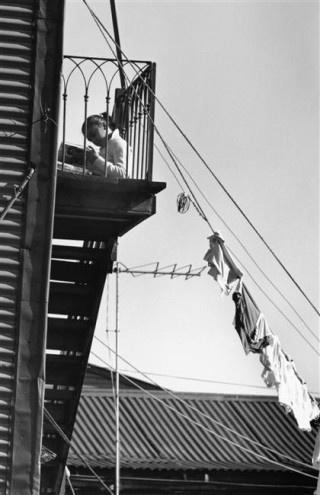 André Kertész. Buenos Aires 1962.