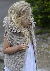 Ravelry: LeLynn Lion Vest pattern by Heidi May