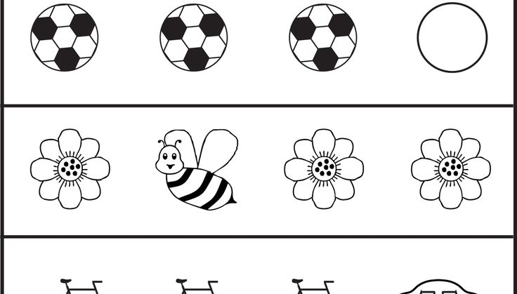 Circle the picture that is different - 1 Worksheet