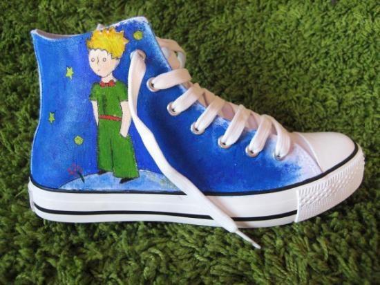 Zapatillas / playeros de el principito (le petit prince)