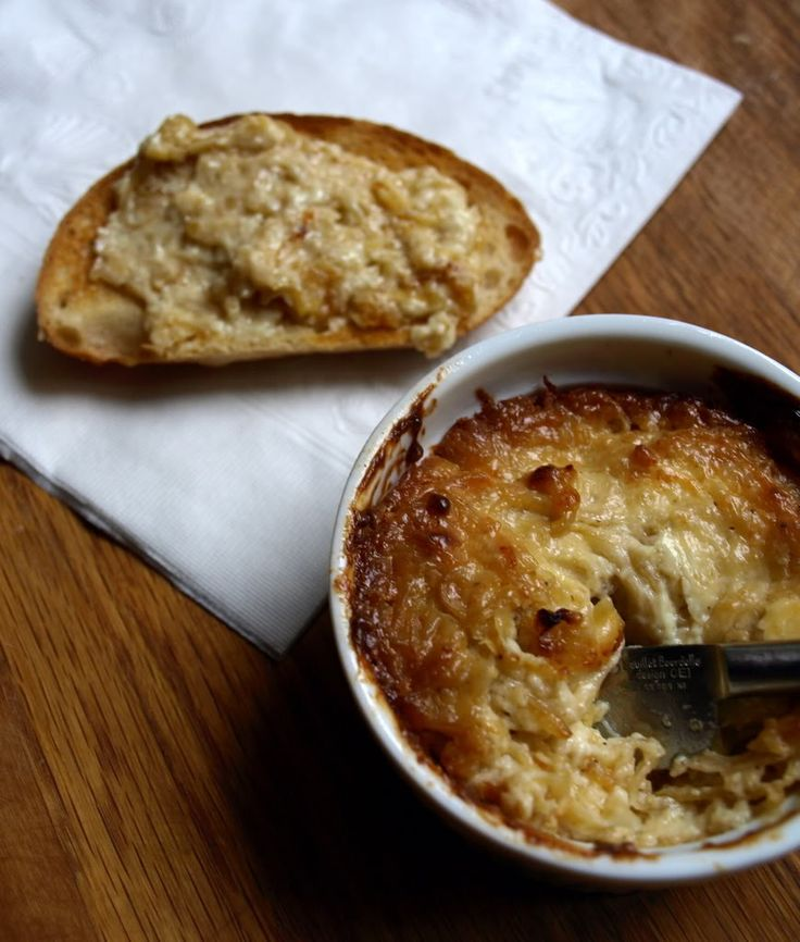 Baked Caramelized Onion Dip | delect delish | Pinterest